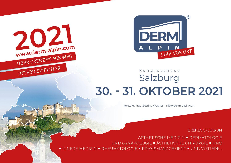 DERM Alpin 2021 in Salzberg