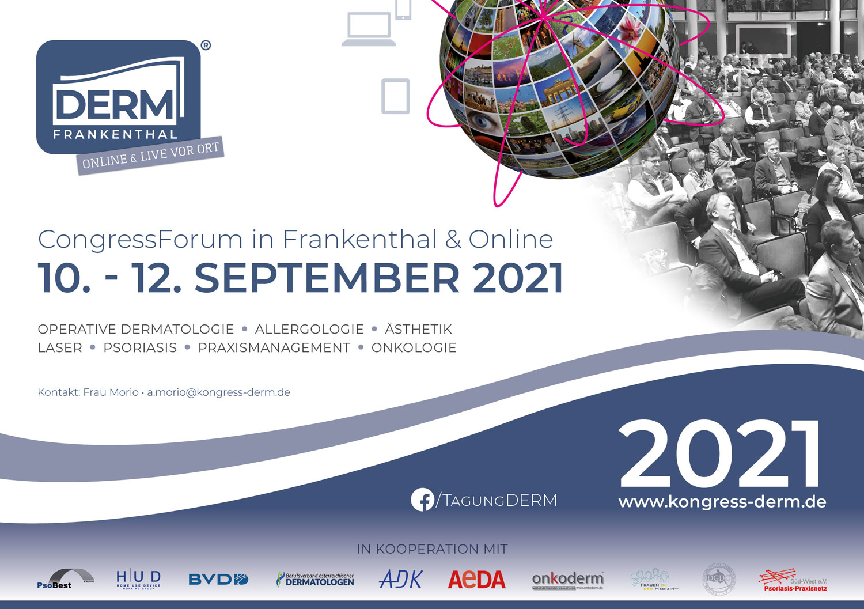 DERM 2021 in Frankenthal